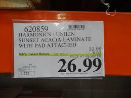 harmonics pad attached laminate flooring costco carpet vidalondon