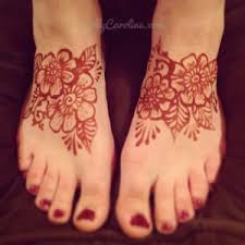 feet henna tattoos by kelly caroline henna artist michigan