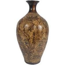 Large Ceramic Vases Pair Of Vintage Large Modernist Ceramic Floor Vases By Deedee914