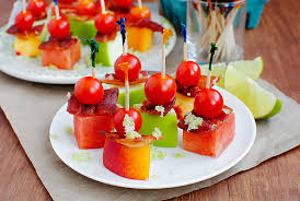 from bacon to brie 11 thanksgiving appetizers fruit kabobs brie