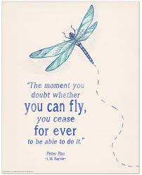 you can fly you can fly children s literature inspirational quote poster echo lit