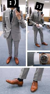 light gray suit brown shoes what color shoes do you wear with a gray suit shoes gallery