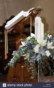 church flower arrangements flower arranging church stock photos flower arranging church