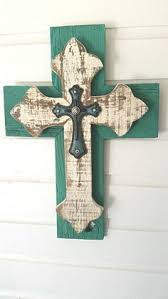 unique wall crosses unique rustic cedar wood cross sale wall by dontthrowthataway