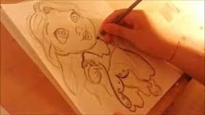 draw disney u0027s tangled baby rapunzel