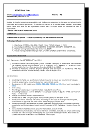 sample resume for senior software engineer sample resume for 2 years experience in mainframe free resume we found 70 images in sample resume for 2 years experience in mainframe gallery