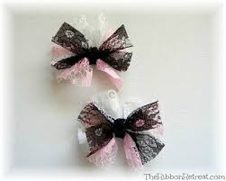 bows and ribbons lace bows the ribbon retreat
