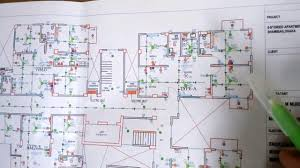 how electrical wiring of apartment building 1 to 9 floor building
