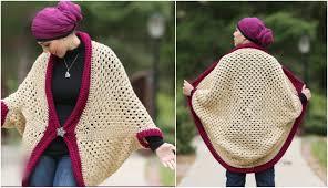 Cocoon Sweater Cardigan Granny Square Cocoon Sweater Cardigan U2013 Crochet Ideas