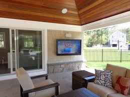 Outdoor Entertainment - outdoor entertainment system seaview home theater