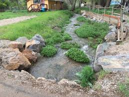 Mill Creek Landscaping by High Park Fire Area Flood Mitigation Support Anderson Consulting