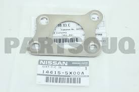 nissan turbocharger 144155x00a genuine nissan turbocharger inlet gasket 14415 5x00a ebay