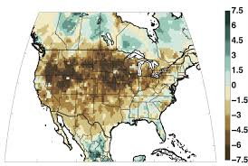 United States Drought Map by Nasa Study Finds 1934 Had Worst Drought Of Last Thousand Years Nasa
