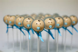 how to make a cake for a boy baby shower cake pops