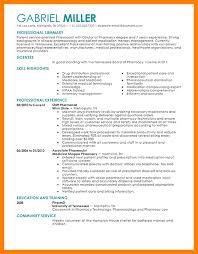 Example Pharmacist Resume by 10 Resume Format For Pharmacist Cfo Cover Letter
