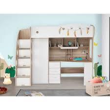 lit mezzanine avec bureau et rangement lit a etage avec bureau gallery of lit a etage avec bureau lit a
