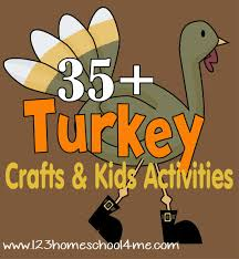 35 turkey crafts activities for thanksgiving