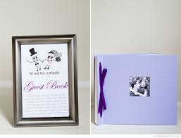 wedding registry book guest book diy wedding guest book with thumbprint