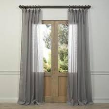 Grey Sheer Curtains Decorate Your Home With This Fabulous Curtain Panel This Cotton