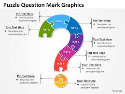 business powerpoint templates puzzle free question mark graphics