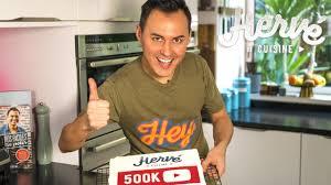 hervé cuisine 500k abonnés à hervé cuisine yesssssss
