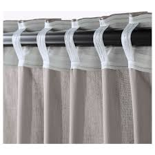 vivan curtains 1 pair grey 145x250 cm ikea ikea vivan curtains 1 pair the curtains can be used on a curtain rod or