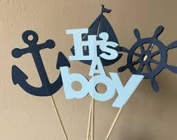 nautical baby shower nautical baby shower centerpiece etsy