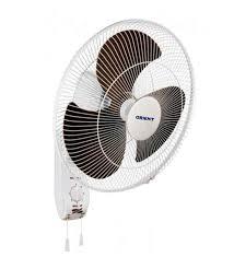 14 inch wall fan buy orient wall 14 hi speed 300 mm white blue wall mounted fan