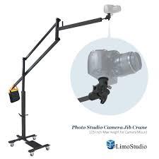 amazon com limostudio dslr camera camcorder jib crane for photo