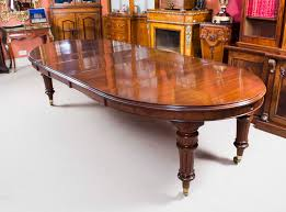 antique 10ft victorian oval extending dining table c 1880