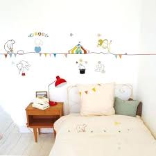stickers décoration chambre bébé stickers deco chambre bebe sticker animaux chambre bacbac stickers