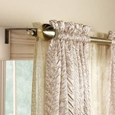 decorative double curtain rod 28