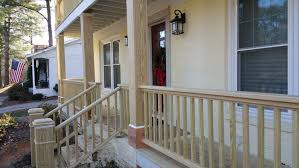 Small Stairs Design Fabulous American House Design With Wide Front Porch Decorated
