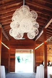 Rustic Wedding Chandelier Yarn Chandelier With Lights U2013 Eimat Co