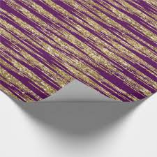 purple and gold wrapping paper zazzle