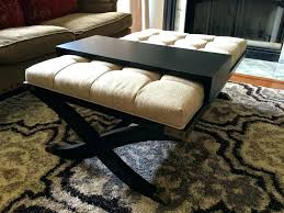 Soft Coffee Tables Soft Coffee Table Upholstered Ottoman Coffee Table Large Fabric