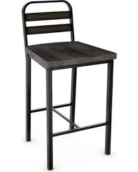amazing deal on amisco accord metal counter stool with distressed