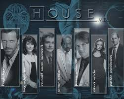 House M D Cast by Cast Wallpaper