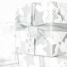 silver christmas wrapping paper silver white christmas wrapping paper by