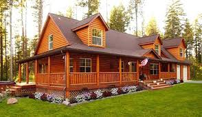 log cabin modular home floor plans cabin style manufactured homes are wooden mobile the latest trend