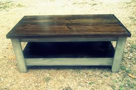 White Distressed Wood Coffee Table Coffee Table Lovely Square And White Rustic End Distressed Tables