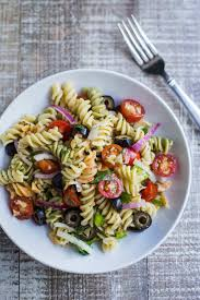 recipe for vegetarian cold pasta salad good pasta recipes