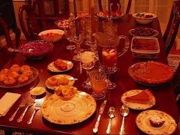 betty s thanksgiving dinner table 2010