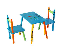 crayola table and chairs 59 childrens table and chair set gift mark children 039 s 3 piece