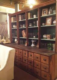 antique pharmacy apothecary cabinet available available as is or