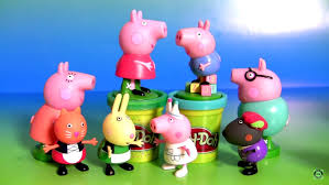 Peppa Pig Play Doh Peppa Pig Play Doh Tool And Peppa S Family Play Doh Tools And We
