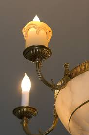 Candle Sleeves For Chandeliers Handmade Translucent Art Glass Candle Sleeves By Anne Thull Fine