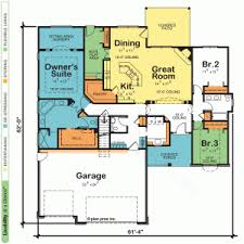 Home Plans 5 Bedroom House Plan One Story House U0026 Home Plans Design Basics 1 Story