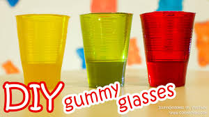 how to make gummy glasses diy edible glasses made from delicious