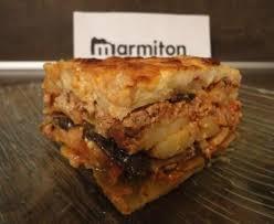 marmitons recettes cuisine moussaka recette de moussaka marmiton